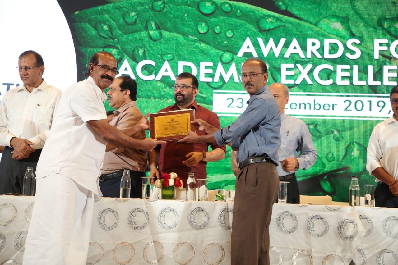 P.M Foundation Award 2019